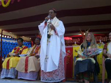 Thanksgiving speech by Cardinal Toppo