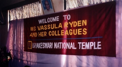 Welcome Vassula Banner