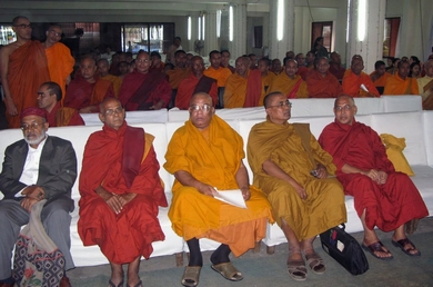 Buddhists Monks at the Ceremony