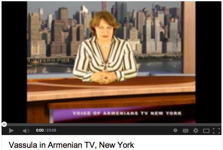 Vassula at Voice of Armenians TV