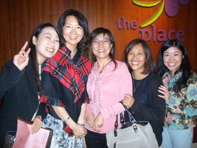 TLIG Hong Kong helpers with Catherine and Cindy of TLIG Taiwan in center