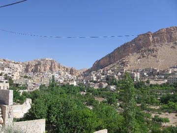 View of Maaloula