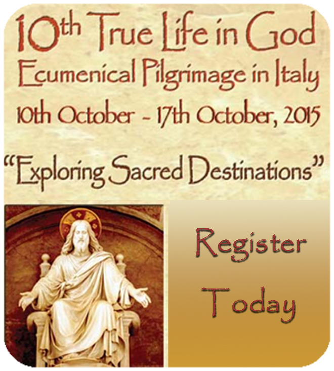 10th True Life in God Ecumenical Pilgrimage In the Italy
